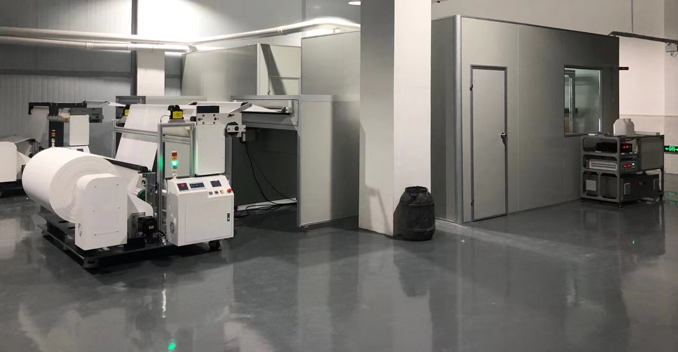 Nanofiber mask production line