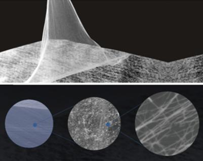 Nanofibers medium and sub-high efficiency filtration membrane